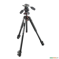 Фотокомплект MANFROTTO MK190XPRO3-3W 190 ALU 3 SECTION KIT 3W HEAD