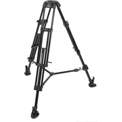 Видеоштатив MANFROTTO 546B PRO VIDEO TRIPOD MID. SP Легкий трехсекционный видеоштатив из алюминия со средней растяжкой.
