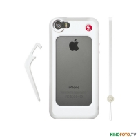 Бампер iPhone 5/5S белый MANFROTTO MCKLYP+5S-W WHITE BUMPER FOR iPHONE 5/5S