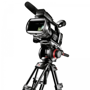 Видеокомплект MANFROTTO MIDI  TWIN SYSTEM(MS) 504HD,546BK Видеокомплект: головка 504HD, штатив 546BK, кофр