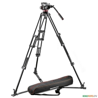 Видеокомплект MANFROTTO MVH502A,546GB-1 PRO VIDEO ALUMINIUM SYSTEM-4KG GROUND SPREADER