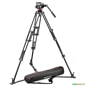 Видеокомплект MANFROTTO MVH502A,546GB-1 PRO VIDEO ALUMINIUM SYSTEM-4KG GROUND SPREADER Видеокомплект MANFROTTO MVH502A,546GB-1 PRO VIDEO ALUMINIUM SYSTEM-4KG GROUND SPREADER