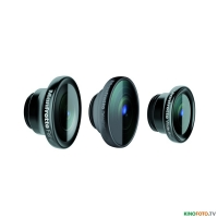 Набор объективов 3 iPhone 5/5S MANFROTTO MOKLYP5S SET OF 3 LENSES