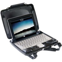 Защитный кейс для iPad и Bluetooth-клавиатуры PELI i1075 HARDBACK CASE (WITH iPad INSERT)