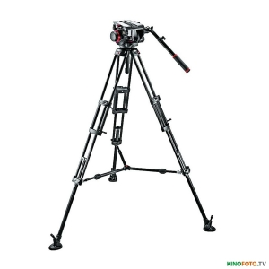 Видеокомплект MANFROTTO 509HD,545BK PRO MIDDLE-TWIN KIT 100 Видеокомплект со средней растяжкой MANFROTTO 509HD,545BK PRO MIDDLE-TWIN KIT 100