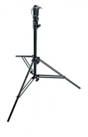 Стойка студийная MANFROTTO 008BU BLACK ALUMINIUM 2-SECTION STAND
