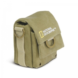 Мини сумка средняя NATIONAL GEOGRAPHIC MEDIUM CAMERA POUCH NG 1152 Сумка для камер среднего размера Earth Explorer NG 1152.