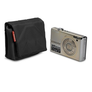 Мини-сумка MANFROTTO Nano I Camera Pouch Black Nano I это стильный мини-кофр, разработанный специально для хранения  компактных фотокамер