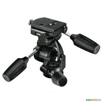 Штативная 3D головка MANFROTTO 808RC4 STANDARD 3-WAY