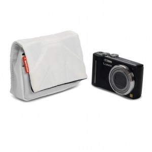 Мини-сумка MANFROTTO Nano II Camera Pouch White Nano II это стильный мини-кофр, разработанный специально для хранения  компактных фотокамер