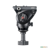 Голова MANFROTTO MVH500A FLUID VIDEO HEAD 60MM HALFBALL - Голова MANFROTTO MVH500A - вид слева