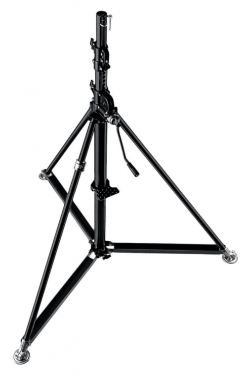 Стойка для света MANFROTTO Stainless Steel Steel Super Wind Up Stand СТЕНД WIND UP SUPER ИЗ НЕРЖАВЕЮЩЕЙ СТАЛИ